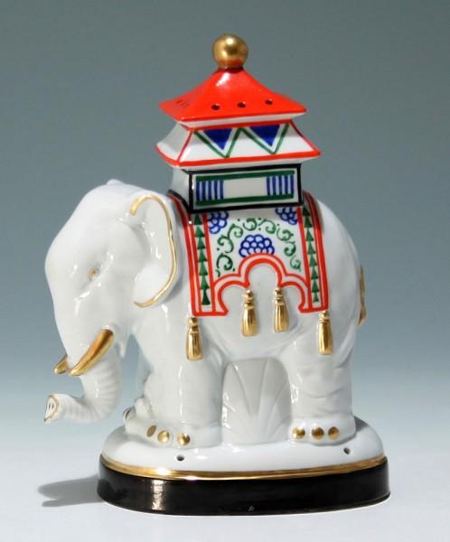 Art Deco Rauchverzehrer Elefant - Elephant Perfume Lamp