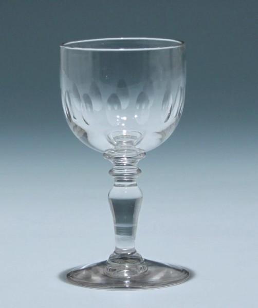 Kelchglas Frankreich circa 1900 - Höhe 12,2 cm