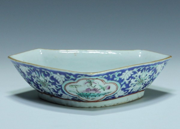 Chinese Porcelain Cabaret Quarter - Red Seal Mark - circa 1900