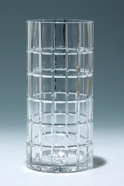 Große Bleikristallvase 1980er Jahre - Höhe 24,7 cm - 2 kg