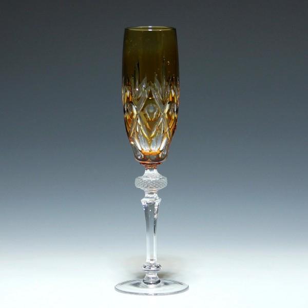 WMF Bleikristall Überfangsektglas CABINET - bernstein-Copy