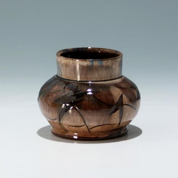 Art Deco Keramik Vase signiert GP ? - circa 1925