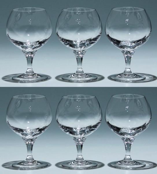 6 Nachtmann Bleikristall Cognacgläser OPAL