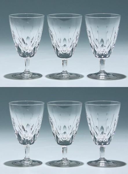6 Nachtmann Bleikristall Kelchgläser SYLVIA 12 cm