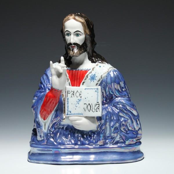 Porzellanbüste JESUS - S.C. GLOBAL ALBA IULIA Rumänien