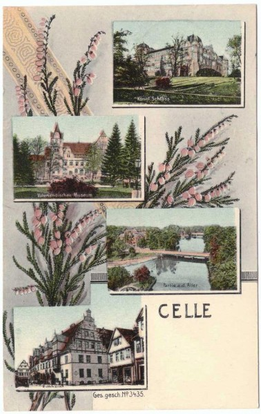 AK - CELLE - gelaufen 1908