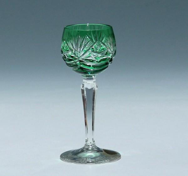 Nachtmann Überfanglikörglas DEKOR 124 - smaragdgrün