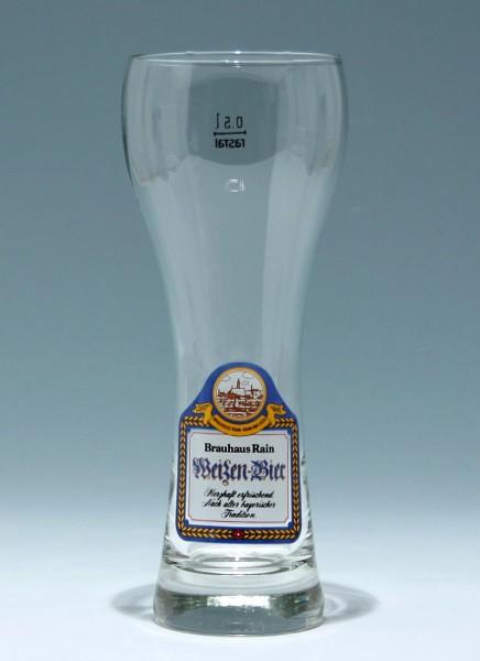 Weizenbierglas BRAUHAUS RAIN 0,5 L.