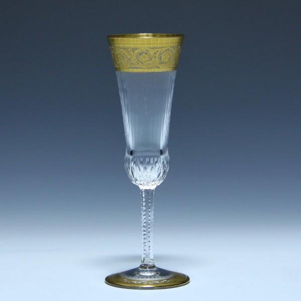 Saint-Louis Sektglas Champagnerflöte THISTLE GOLD