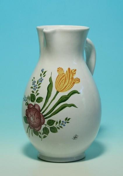 Keramik Kanne 4204 mit Blumendekor Karlsruhe