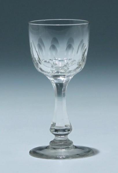 Kelchglas Frankreich circa 1900 - Höhe 11,2 cm