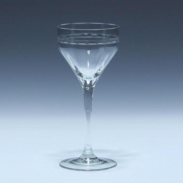 Poschinger Jugendstil Weinglas um 1900