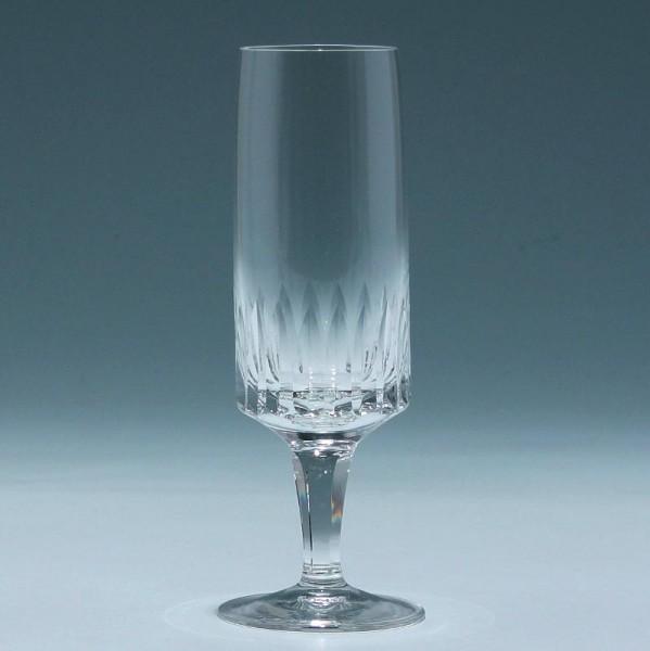 Sektglas Kristallglashütte Gistl in Frauenau 1960er Jahre