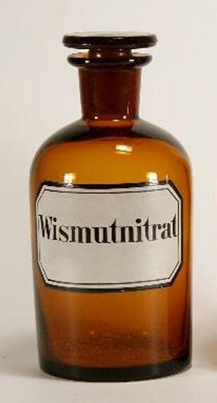 Apothekenflasche Wismutnitrat - 14,7 cm
