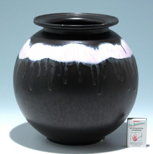 Große Art Deco Keramikvase - Randbestoßungen
