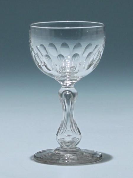 Hohlschaftglas Frankreich circa 1900 - Höhe 11,5 cm