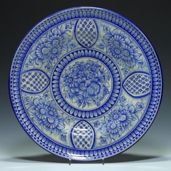 Großer Keramik Wandteller - Onda, Spanien - 37 cm