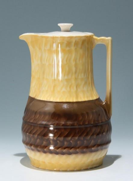 Große Porzellan Kaffeekanne Mitte 20. Jh.