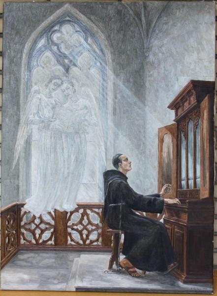 Kopie nach einem Gemälde von George von Hoesslin (Hoeßlin)