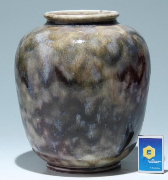Große WMF IKORA Keramik Vase Entwurf Gerda Conitz