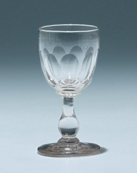 Kelchglas - Frankreich circa 1900 - Höhe 9,7 cm