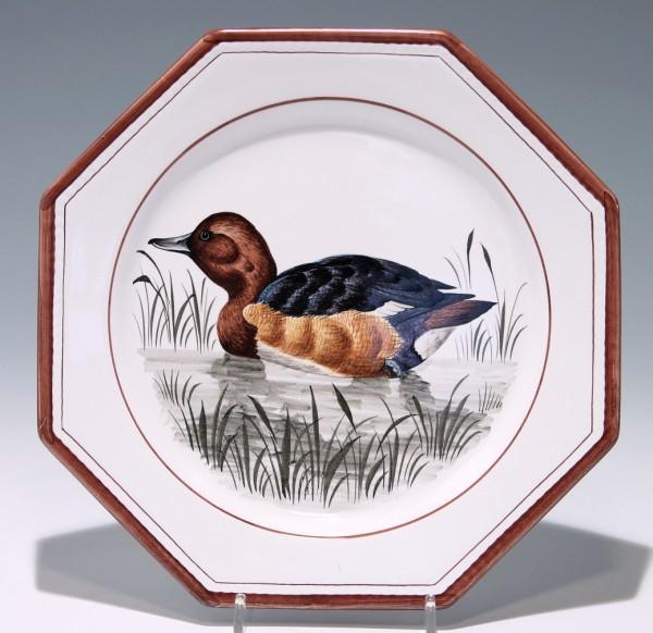 Handbemalter Keramik Wandteller Meran - Italien