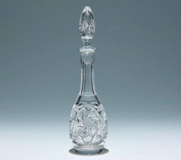 Kleine Bleikristall Karaffe Anfang 20. Jh. - 25,5 cm-Copy