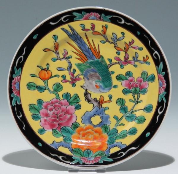 Handbemalter Teller - Japan 20. Jh.