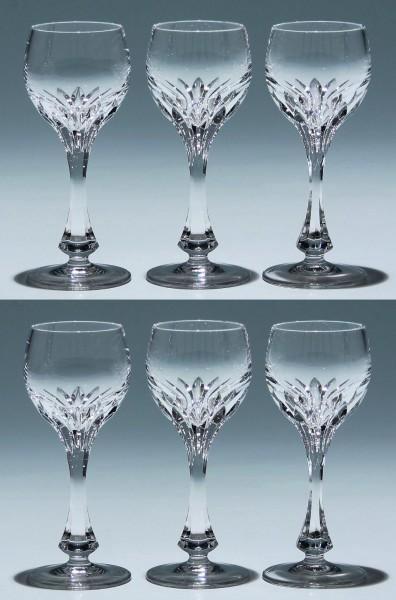 6 Nachtmann Bleikristall Likörgläser ISABELLA - 12,4 cm
