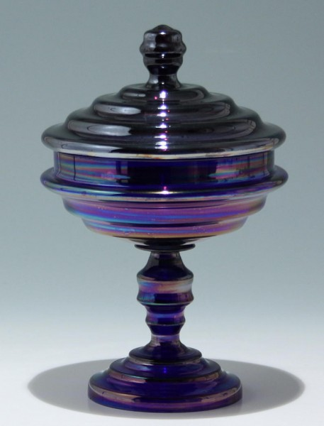Art Deco Deckelpokal - Made in Czechoslovakia