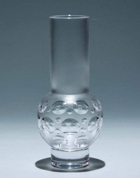 Moderne Bleikristallvase - deutsch 1970er Jahre