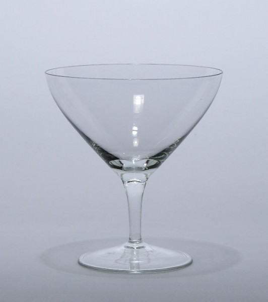 Mundgeblasenes Weinglas 1950er Jahre