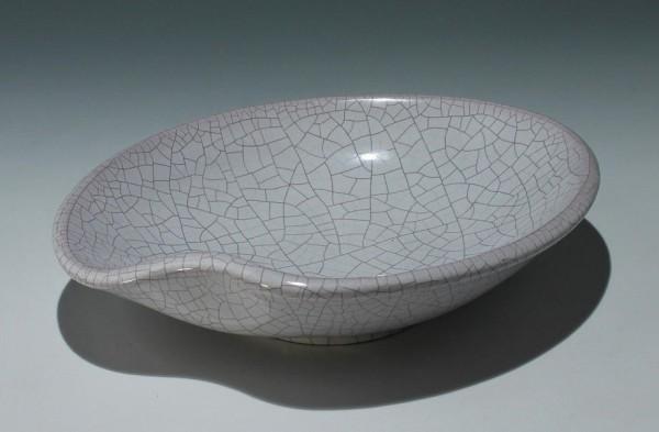 Keramikschale in Nierenform - 1950/60er Jahre