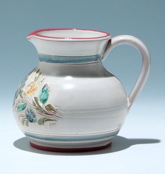 Gedrehte Keramikkanne 1980er Jahre
