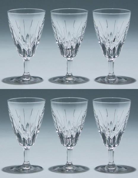 6 Nachtmann Bleikristall Kelchgläser SYLVIA 10,7 cm