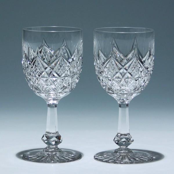 2 Bleikristall Pokale Frankreich / Belgien um 1910