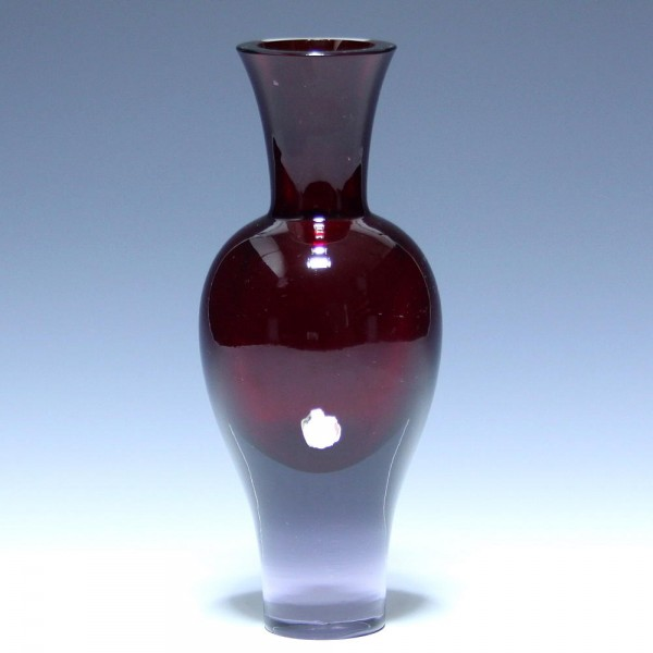 Seguso Vetri d'Arte Sommerso Glass Vase - Signs of Wear