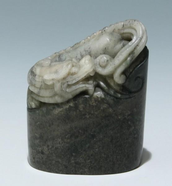 Specksteinschnitzerei Drachen - Soapstone Dragon