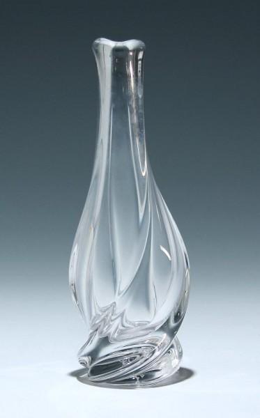 Bleikristallvase signiert S. Louis - 1950er Jahre