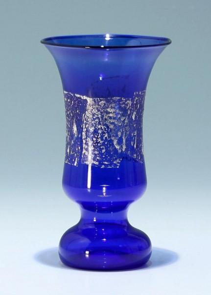 Lampengeblasene Vase Lauscha 1980/90er Jahre 15 cm