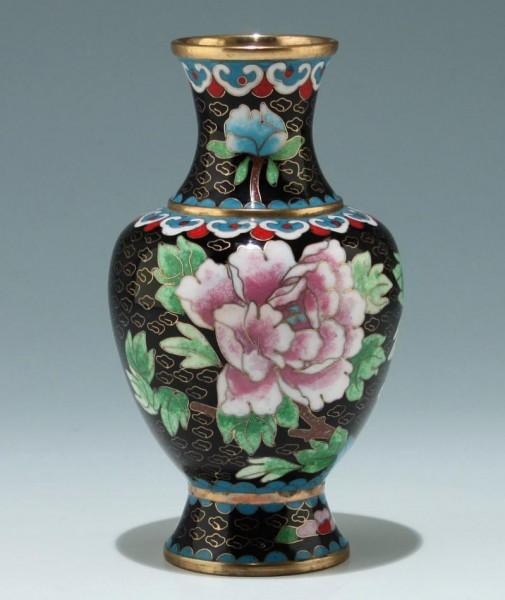 Cloisonné Vase - China 20. Jh. - 15,5 cm