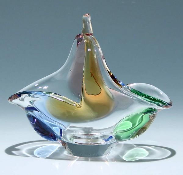 Henkelkorb RHAPSODY Design Frantisek Zernek for Mstisov Glassworks 1956