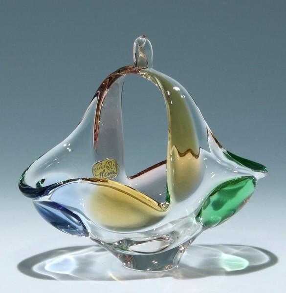 Henkelkorb RHAPSODY Mstisov Glassworks 1956