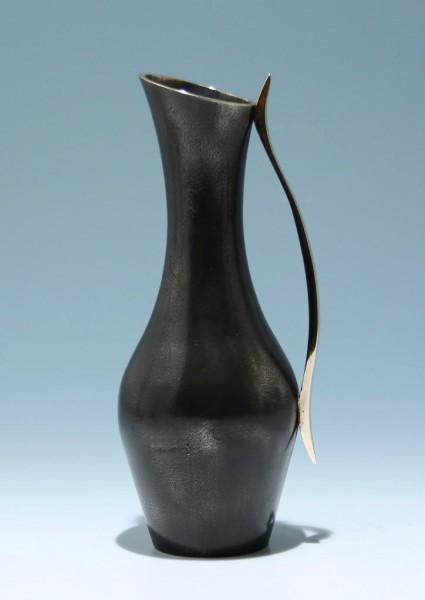 Bronzierte Messingguss Vase 1950er Jahre - 1250 Gramm