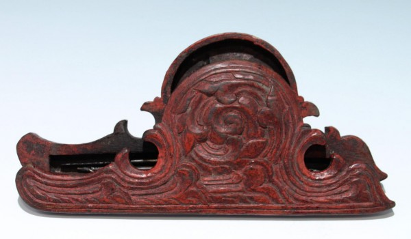 Chinese Opium Balance Scale in Carved Box - 19th C.