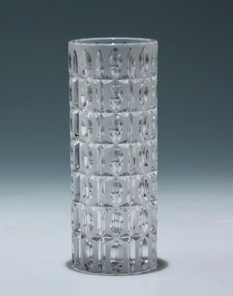 Schwere Pressglasvase - Joska 1960er Jahre - 18,8 cm