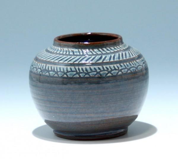 Signierte Studiokeramik Vase