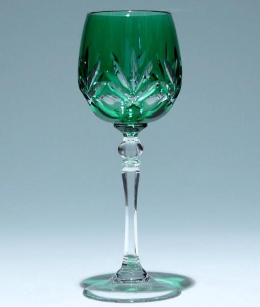 WMF Bleikristall Römer CABINET - smaragd