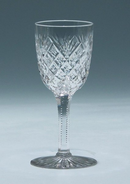 Bleikristall Süßweinglas - Frankreich um 1900
