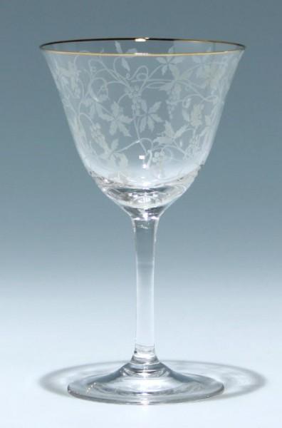 Spiegelau Weinglas RÜDESHEIM 14 cm 1950er Jahre